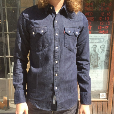 Levis sawtooth westernshirt in the group Clearance / Men / Shirts at Sivletto - Skylark AB (w11972)