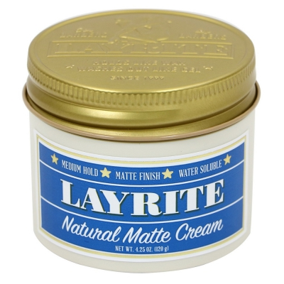 Layrite Natural Matte Cream in the group Hair and skincare / Pomade at Sivletto - Skylark AB (w12000)