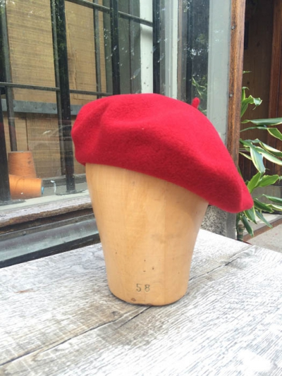 Seeberger Beret Wine Red in the group Women / Accessories at Sivletto - Skylark AB (w12026)