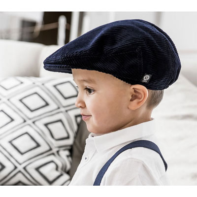 CTH Philip Jr Corduroy marin in the group Kids / Accessories at Sivletto - Skylark AB (w12092)
