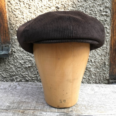 CTH Olle Sr Corduroy brown in the group Men / Headwear / Flat caps at Sivletto - Skylark AB (w12096)