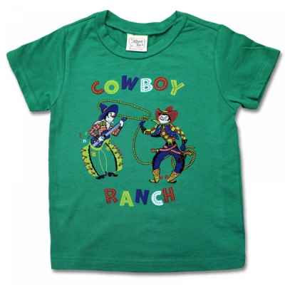 Atomic Swag Cowboy Ranch Kids Tee in the group Kids / 2 – 8 years at Sivletto - Skylark AB (w12112)