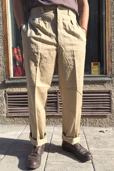 Deadstock French Legion pants in the group Clearance / Men / Pants at Sivletto - Skylark AB (w12131)