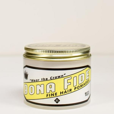 Bona Fide Matte Paste in the group Hair and skincare / Pomade / Water soluble pomade at Sivletto - Skylark AB (w12155)