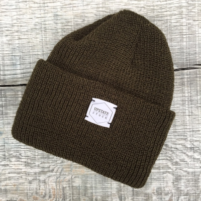 Upstate Stock Watch Cap Olive in the group Men / Headwear / Beanies at Sivletto - Skylark AB (w12241)