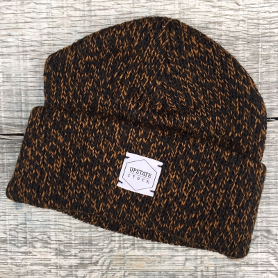 Upstate Stock Beanie Rust Melange in the group Men / Headwear / Beanies at Sivletto - Skylark AB (w12243)
