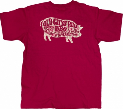 Old Guys Rule BBQ Tee in the group Clearance / Men / T-shirts at Sivletto - Skylark AB (w12309)
