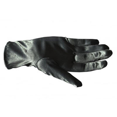 Collectif Satin Bracelet Length Gloves black in the group Clearance / Women / Misc at Sivletto - Skylark AB (w12315)