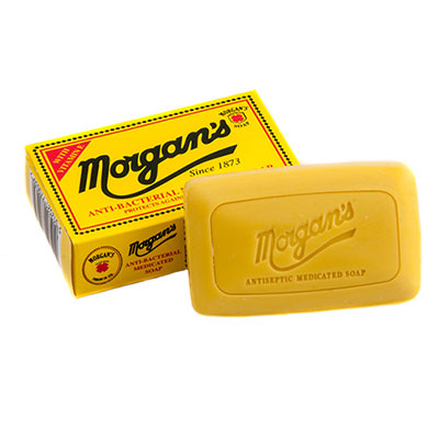 Morgan's Antibacterial Medicated Soap in the group Hair and skincare / Face & Body / Soap at Sivletto - Skylark AB (w12359)