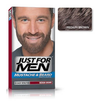 Just For Men Color Gel Medium Brown in the group Hair and skincare / Mens hairstyling / Colour at Sivletto - Skylark AB (w12403)