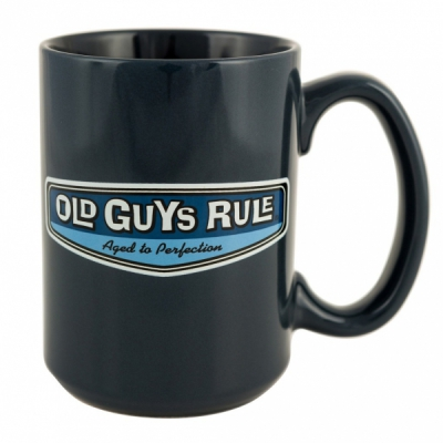 Old Guys Rule Rear View Mug Lake Blue in the group Home and stuff / Kitchen & edibles at Sivletto (w12450)