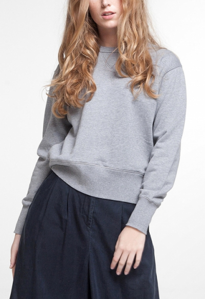 KOI Hemma Sweatshirt Grey Melee in the group Sale! / Women / Tops, jackets etc at Sivletto - Skylark AB (w12466)