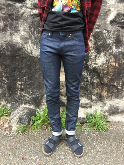 KOI Charles Selvage Denim Raw in the group Clearance / Men / Pants at Sivletto - Skylark AB (w12467)