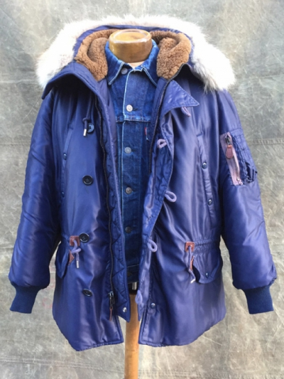 Second Hand Real Mccoys N 3a Jacket Size Small