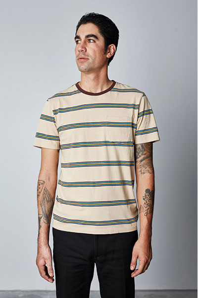 Brixton Hilt washed pocket tee in the group Clearance / Men / T-shirts at Sivletto - Skylark AB (w12615)