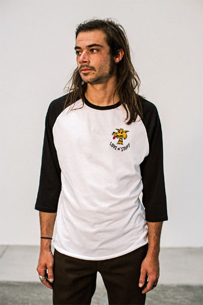 Brixton Lovin tee in the group Clearance / Men / T-shirts at Sivletto - Skylark AB (w12619)