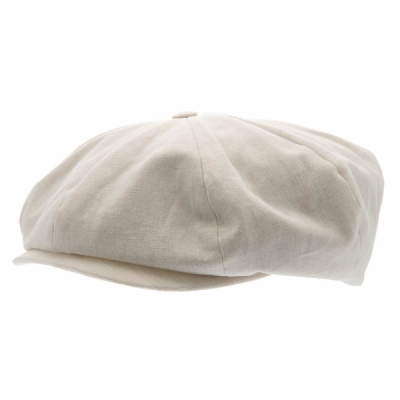 CTH Branson Sr Cotolino Beige in the group Men / Headwear / Flat caps at Sivletto - Skylark AB (w12628)