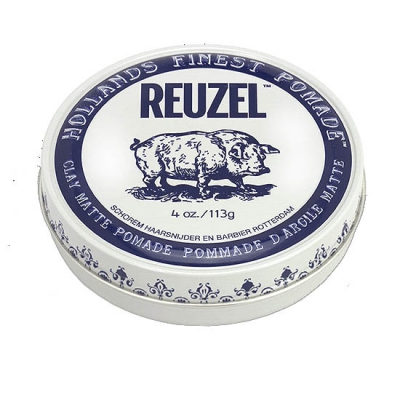 Reuzel Clay Matte Pomade in the group Hair and skincare / Pomade / Water soluble pomade at Sivletto (w12637)
