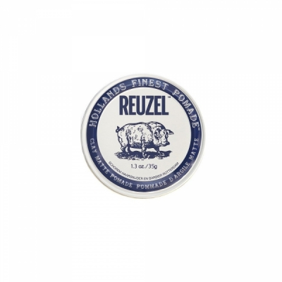 Reuzel Clay Matte Pomade Piglet in the group Hair and skincare / Pomade / Water soluble pomade at Sivletto (w12639)