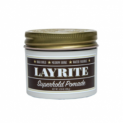 Layrite Superhold Pomade in the group Hair and skincare / Pomade / Water soluble pomade at Sivletto (w1265)