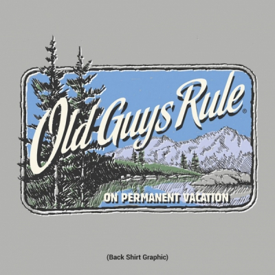 Old Guys Rule Vacation Pines Dark Ash in the group Clearance / Men / T-shirts at Sivletto - Skylark AB (w12669)