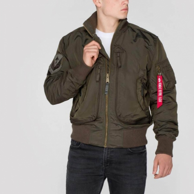 Alpha Prop Flight Jacket Grey in the group Sale! / Men / Jackets at Sivletto - Skylark AB (w12676)