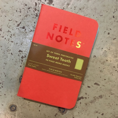 Field Notes Sweet Tooth 3-pack in the group Home and stuff / Office and stationary at Sivletto (w12680)
