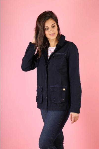 Armor-Lux Fisherman's jacket heritage dark navy in the group Clearance / Women / Misc at Sivletto - Skylark AB (w12686)