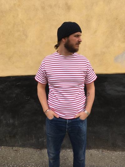 Armor-Lux Doélan Sailor Breton T-shirt in the group Sale! / Men / T-shirts at Sivletto - Skylark AB (w12687)