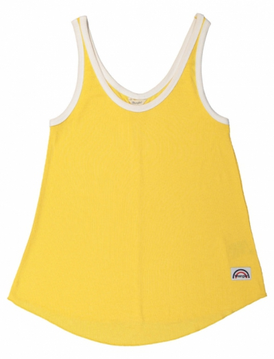 Wrangler Pop tank banana in the group Sale! / Women / Tops, jackets etc at Sivletto - Skylark AB (w12718)