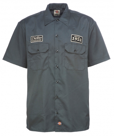 Dickies North Irwin Shirt Charcoal Grey in the group Sale! / Men / Shirts at Sivletto - Skylark AB (w12744)