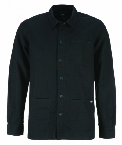 Dickies Kempton Shirt Black in the group Sale! / Men / Jackets at Sivletto - Skylark AB (w12748)