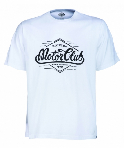 Dickies Gassville Tee White in the group Clearance / Men / T-shirts at Sivletto - Skylark AB (w12752)