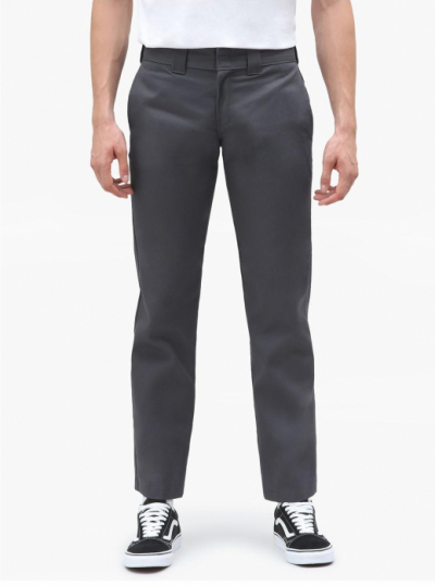 Dickies 873 Slim Straight Charcoal Grey Work Pant in the group Clothes / Trousers at Sivletto - Skylark AB (w12759)