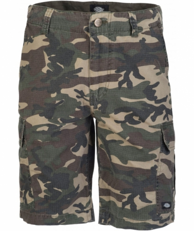 Dickies New York Short Camouflage in the group Sale! / Men / Trousers at Sivletto - Skylark AB (w12760)