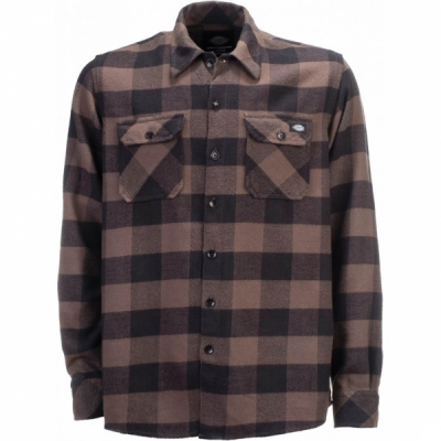 Dickies Sacramento Gravel Gray Shirt in the group Sale! / Men / Shirts at Sivletto - Skylark AB (w12764)