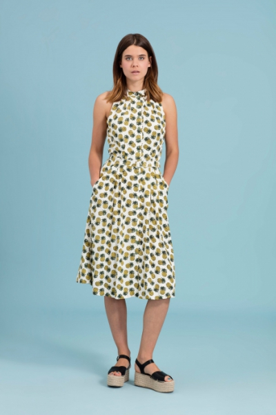 Emily and Fin Sally Dress Pineapple Punch in the group Women / Dresses at Sivletto - Skylark AB (w12791)