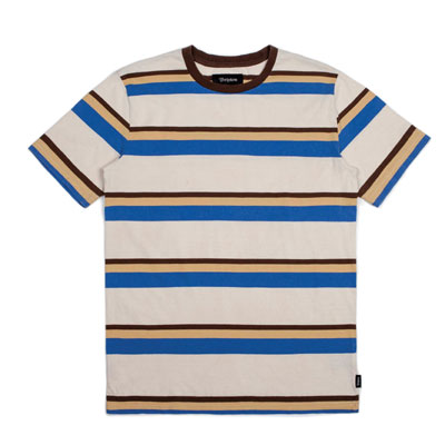 Brixton Clive washed S/S Knit in the group Sale! / Men / T-shirts at Sivletto - Skylark AB (w12809)