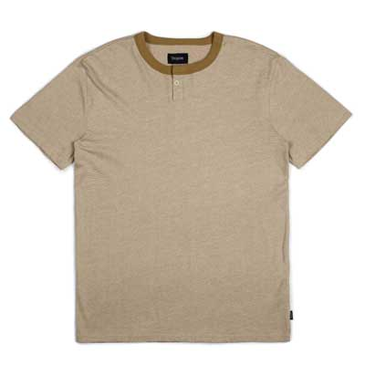Brixton Toronto S/S Henley Green in the group Clearance / Men / T-shirts at Sivletto - Skylark AB (w12822)