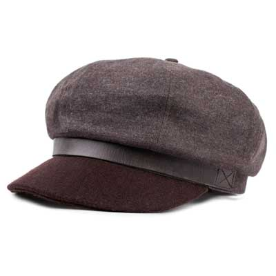 Brixton Montreal cap chocolate in the group Men / Headwear / Flat caps at Sivletto - Skylark AB (w12832)