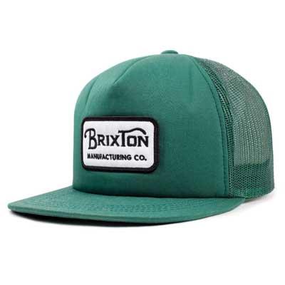 Brixton Grade mesh cap chive  5cf232a2b2a2