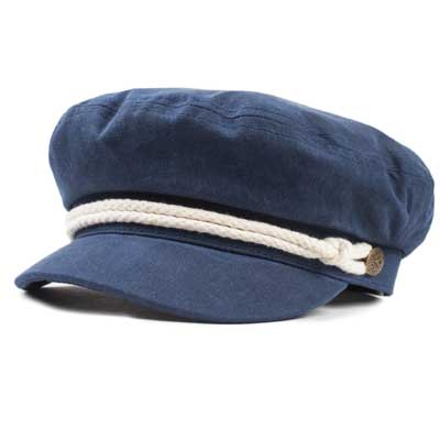 Brixton Ashland cap navy in the group Clearance / Women / Misc at Sivletto - Skylark AB (w12837)