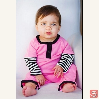 Cotton candy romper in the group Clearance / Kids at Sivletto - Skylark AB (w1544)