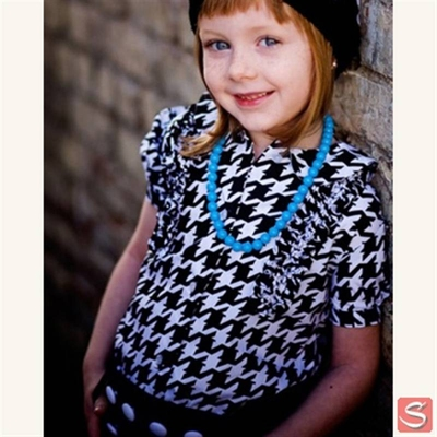 Tuxedo blouse in the group Kids / 2 � 8 years at Sivletto (w1547)