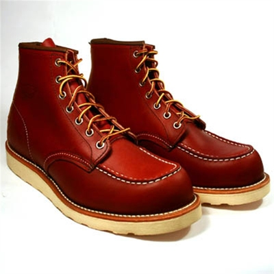 Red Wing Style No. 8131 Classic Moc Oro Russet in the group Unionville / Made in USA at Sivletto (w1695)