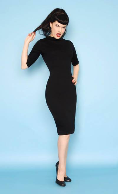 Heart of Haute Super spy dress black in the group Women / Dresses at Sivletto (w1796)