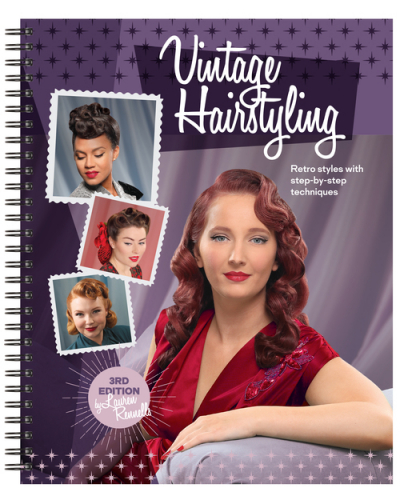 HRST Vintage Hairstyling in the group Hair and skincare / Snoods, Rollers & Curlers at Sivletto (w1869)