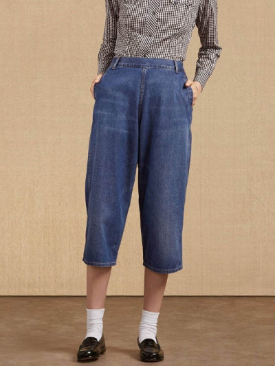 LVC Denim Family Culotte 1950's in the group Clearance / Women / Pants at Sivletto (w1935)