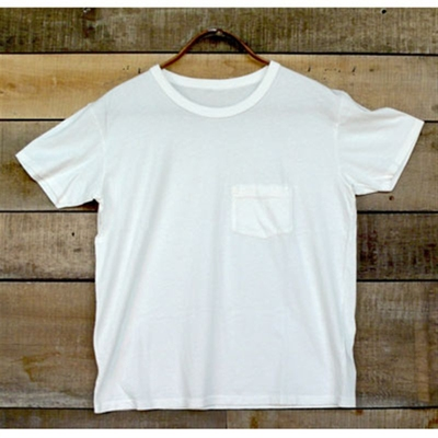 LVC 1950's Sportswear Tee Milk White in the group Unionville / Short sleeve at Sivletto (w3013)