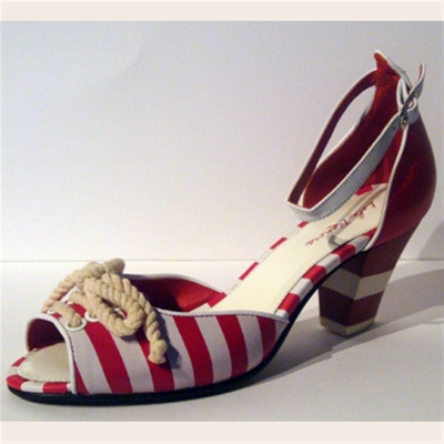 Elsie sailorheels in the group Clearance / Women / Women Shoes at Sivletto (w3128)
